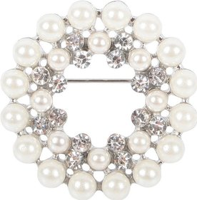 Harry's Horse Crystal Pearl plastronspeld