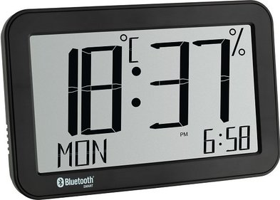 TFA Bluetooth thermo-hygrometer klok