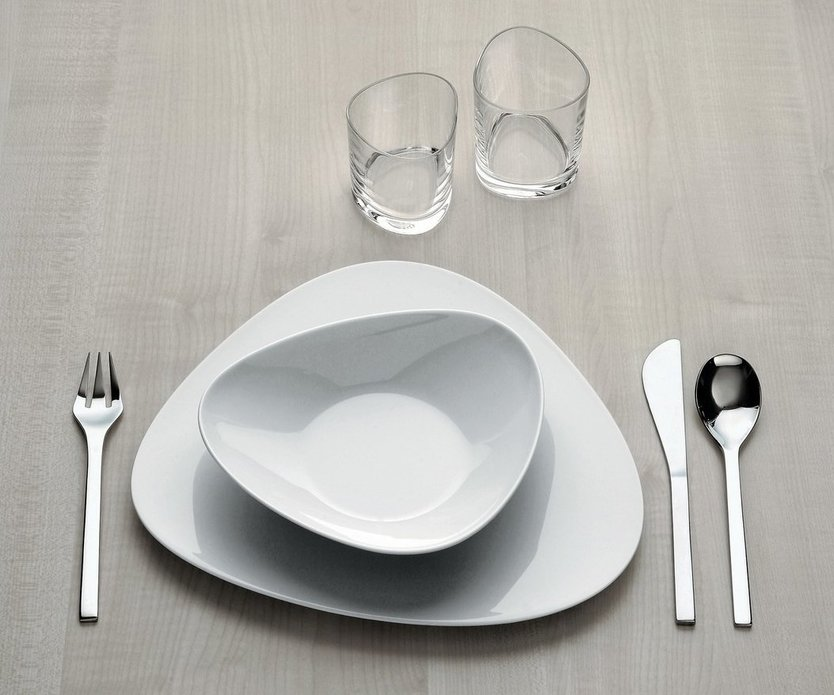 Alessi Colombina Suppenteller