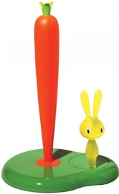Alessi Bunny & Carrot kitchen roll holder ASG42