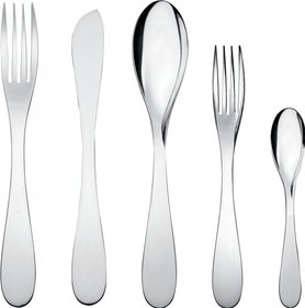Alessi Eat.it cutlery set