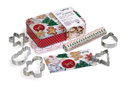 Lékué Christmas cookies set