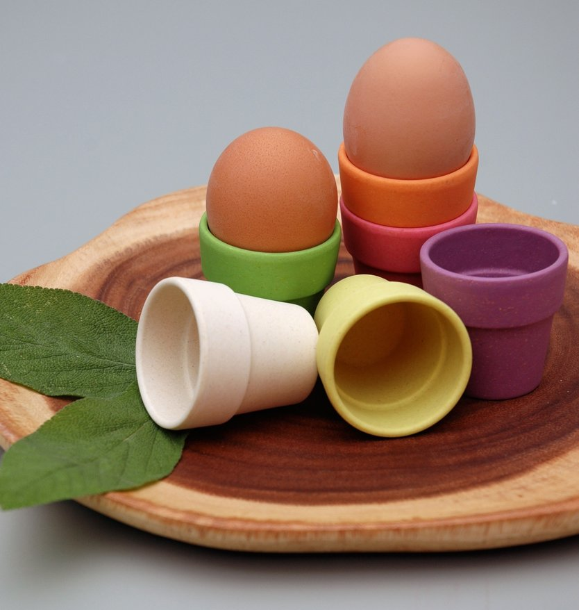 Zuperzozial Little Egg Heads Egg cup - 6 pieces