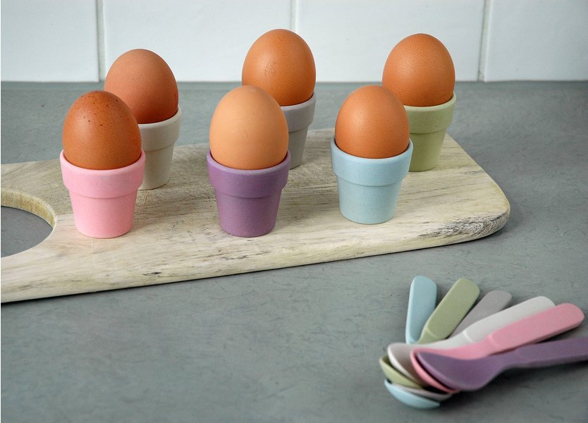 Zuperzozial Little Egg Heads Egg Cup - 6 stycken