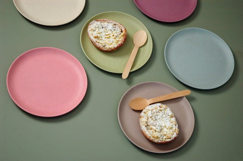 Zuperzozial Take the cake pastry plate - 6 pieces