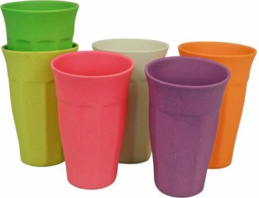 Zuperzozial Cupful of colour XL beker - 6 stuks