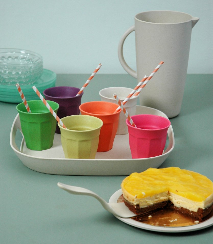 Zuperzozial Cupful or color L cup - 6 pieces