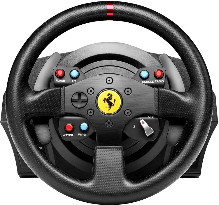 thrustmaster t300 ferrari gte racing wheel racestuur kopen. Black Bedroom Furniture Sets. Home Design Ideas