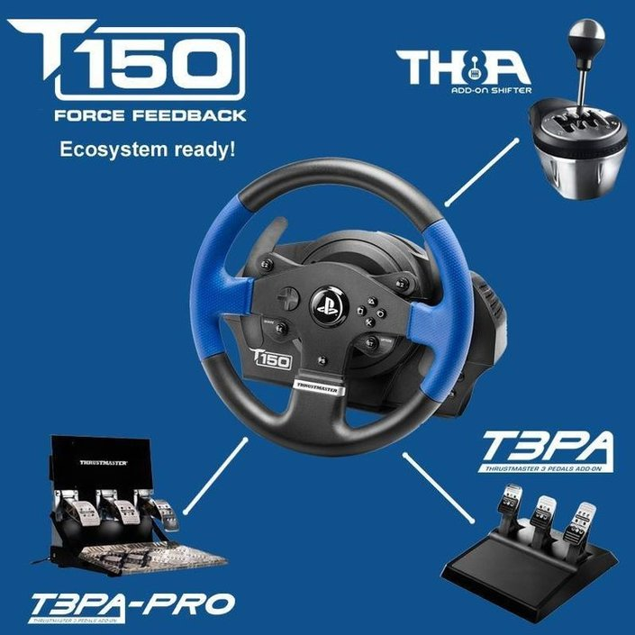 Thrustmaster T150 RS Racing Wheel Race handlebar on checkfrank co uk | Frank