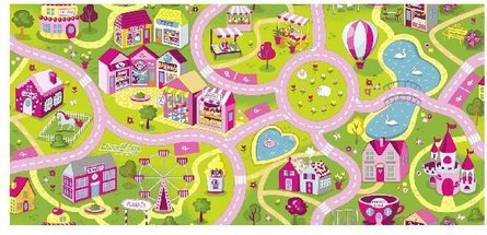 Sweet Town Pink speelkleed