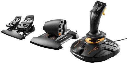 Thrustmaster T16000M FLIGHT PACK Joystick + Throttle + Pedals