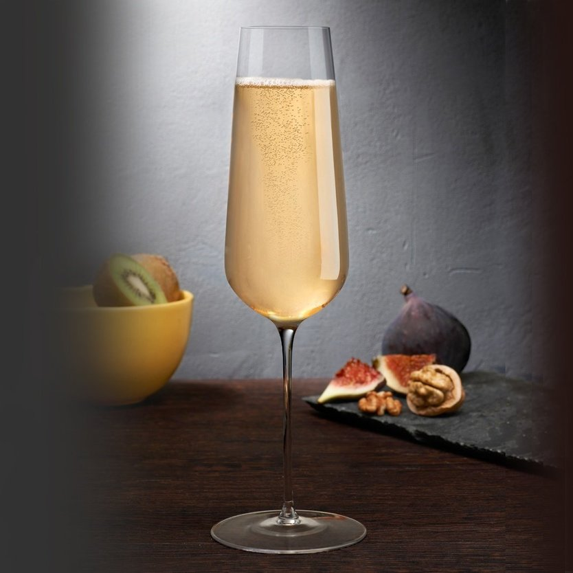 Nude Glass Stem Zero champagneglas 300ml