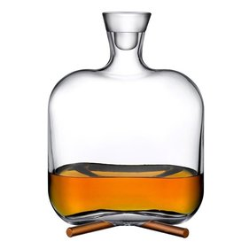 Nude Glass Camp whiskey carafe