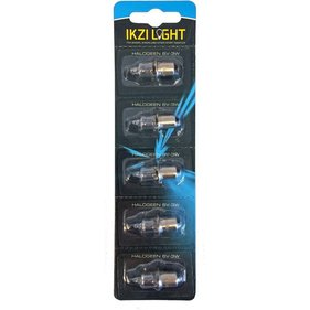 Ikzi halogen light bulb 6V-3W, (5)