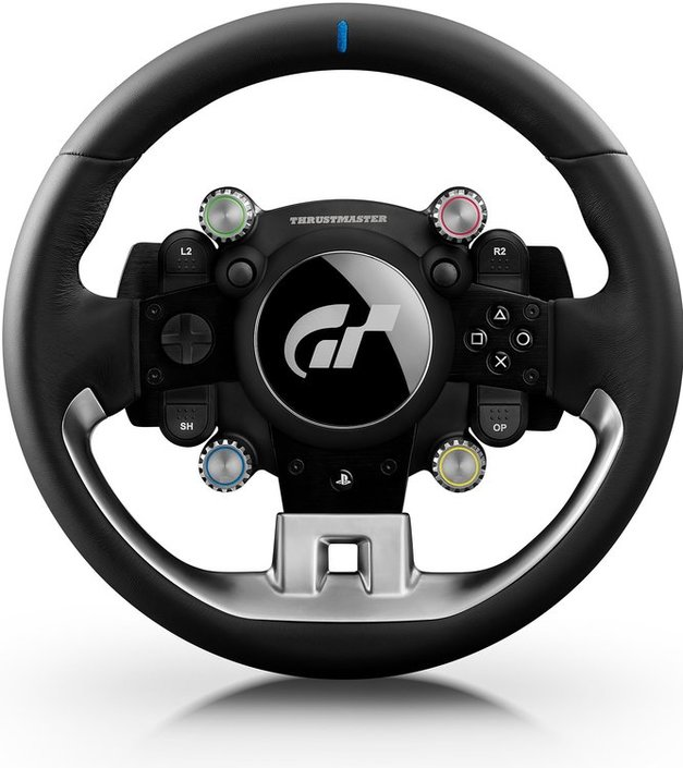 m chten sie thrustmaster t gt racing wheel gaming lenkrad. Black Bedroom Furniture Sets. Home Design Ideas