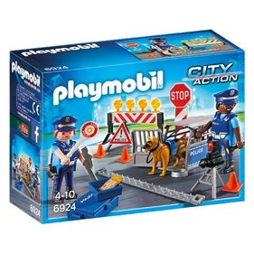 Playmobil Polizeisperre 6924