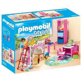 Playmobil Children's room With Loft bed 9270
