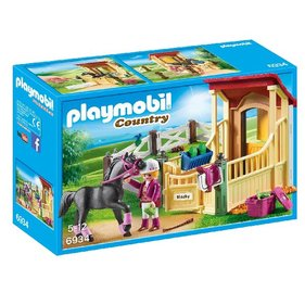 Playmobil Arab With Horsebox 6934