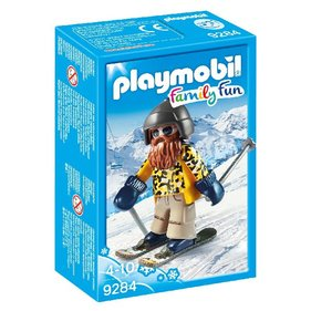 Playmobil Skier On Snowblades 9284