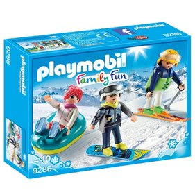 Playmobil Winter sports fans 9286