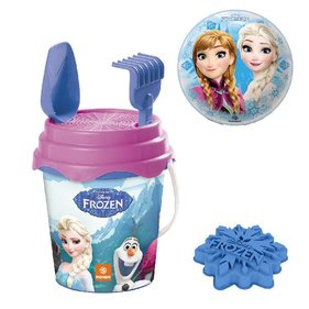 Frozen Bucket set 15 Ball 6 pieces