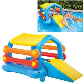 Intex Island with slide float