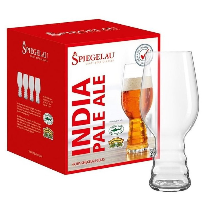 Spiegelau Craft Beer IPA bierglas - set van 4