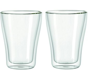 Leonardo Duo double walled latte glass - set of 2