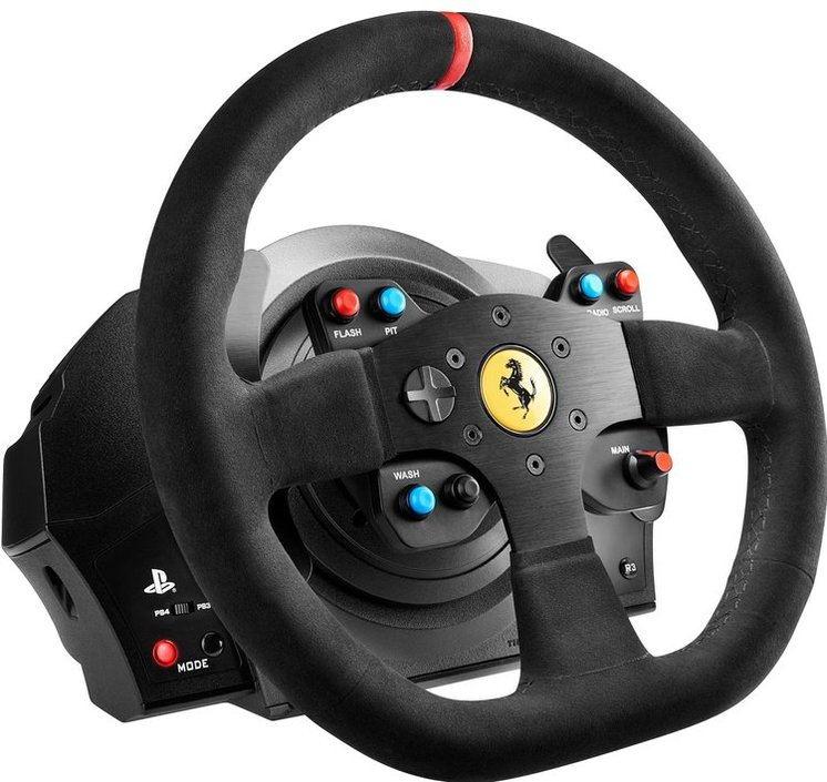 thrustmaster t300 integral racing wheel alcantara racestuur kopen frank. Black Bedroom Furniture Sets. Home Design Ideas