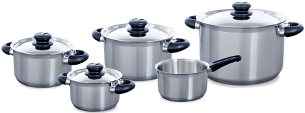 BK Carat + Pan Set 5-piece