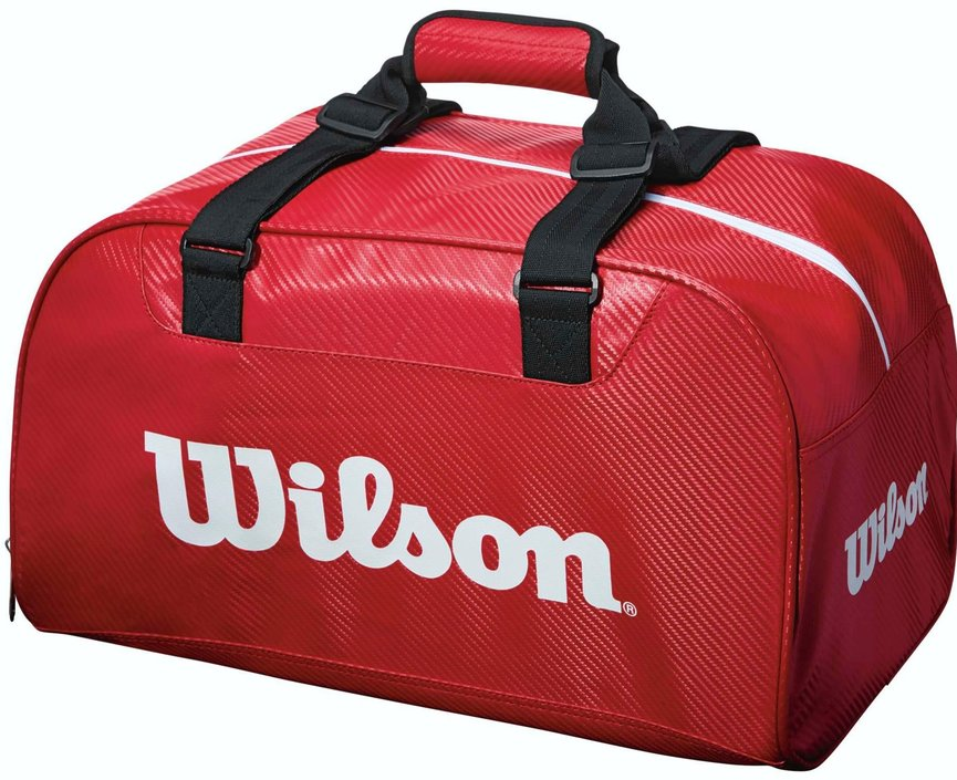 Wilson Red Duffel Small sporttas