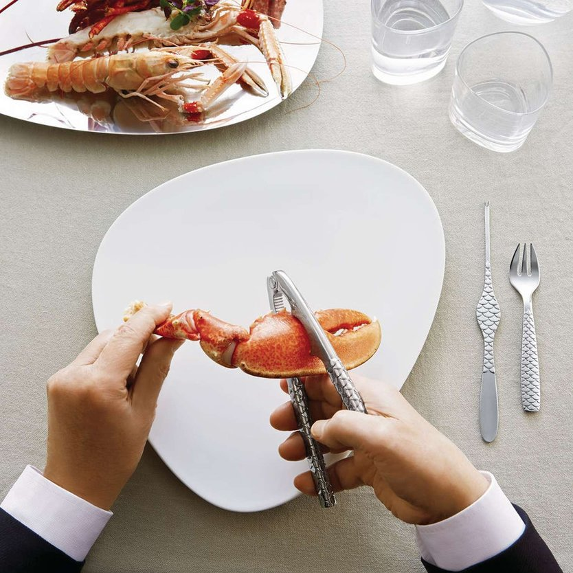 Alessi Colombina Fish lobster tongs