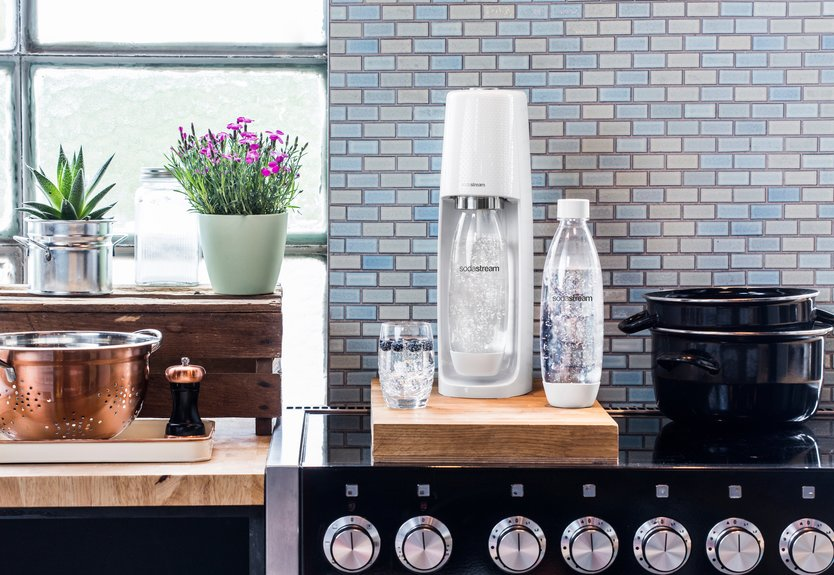 Sodastream Spirit sparkling water machine
