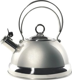 Wesco whistling kettle 2 liters