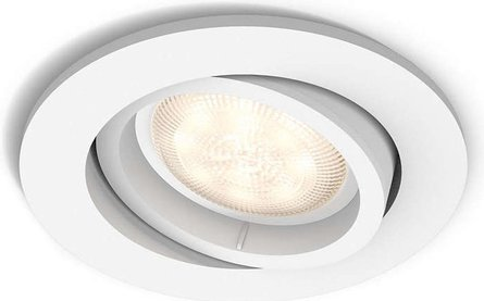 Philips myLiving Shellbark Round inbouwspot