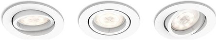 Philips myLiving Shellbark 3 Runda infällda spotlights