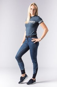 Harry's Horse Glam Denim paardrijbroek