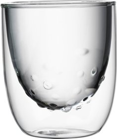 QDO Elements double walled glass Water - set of 2