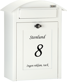 Flexbox Albertina wall-mounted mailbox