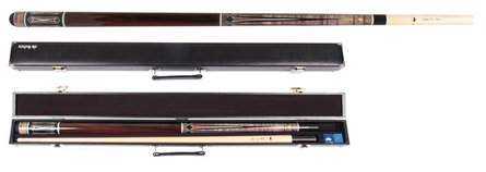 Buffalo Century billiards cue set & case no