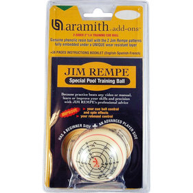 Aramith Jim Rempe training poolbal 57.2mm