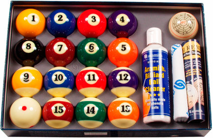 Pool ballen set Aramith 57.2mm Value pack