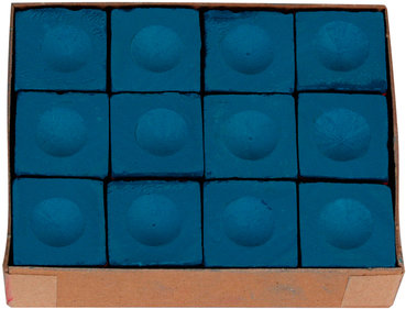 Buffalo billiards chalk blue (12 pcs.)