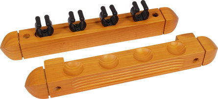 Buffalo cue rack for 4 cue maple