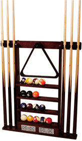 Buffalo cue rack for 6 cues all-in-one pool