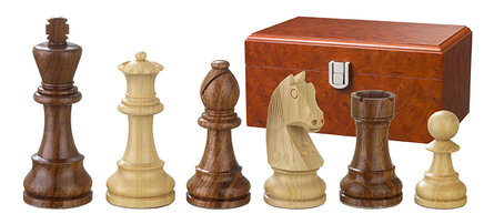 Philos Chess pieces Artus 110mm double weighted