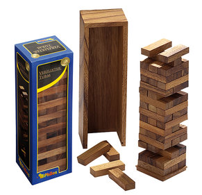 Philos Timber falling tower deluxe 80x70x235mm