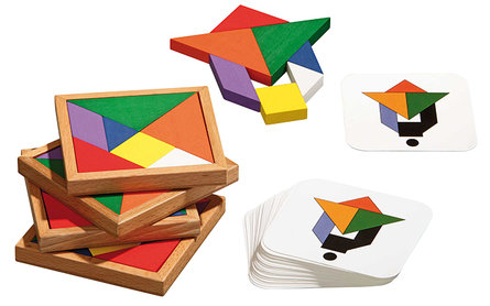 Philos Speed Tangram 10x10cm