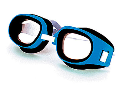 Yello swimming goggles blue