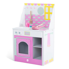 Plum play kitchen Cabin pink wood